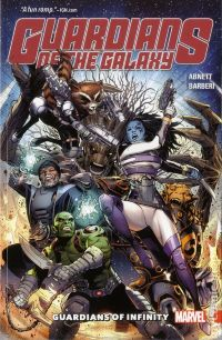 Guardians of the Galaxy: Guardians of Infinity TPB