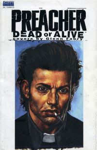Preacher: Dead or Alive - Covers by Glenn Fabry HC