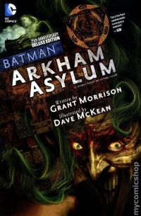 Batman Arkham Asylum HC (25th Anniversary Edition)