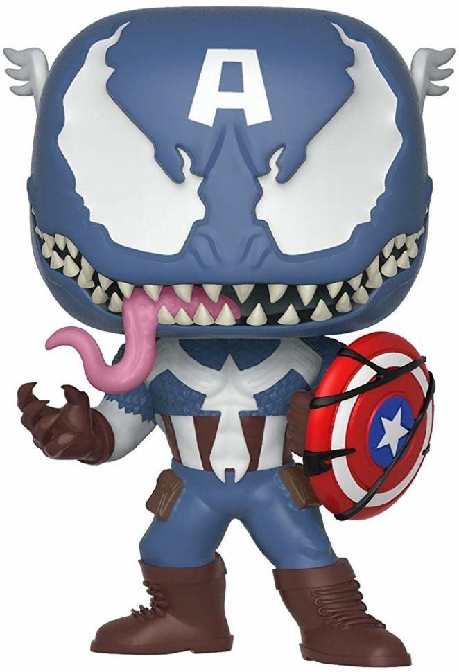 Фигурка Funko Pop! Marvel: Venom - Venom Captain America ...