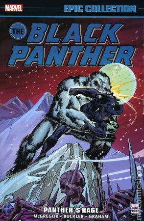Black Panther. Panther's Rage TPB (Epic Collection)