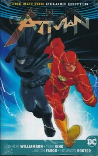 Batman / Flash: The Button HC (Deluxe Edition) Variant Cover