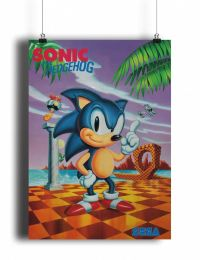 Постер Classic Sonic The Hedgehog (pm048)