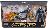 Фигурка Marvel Legends - Ghost Rider with Flame Cycle